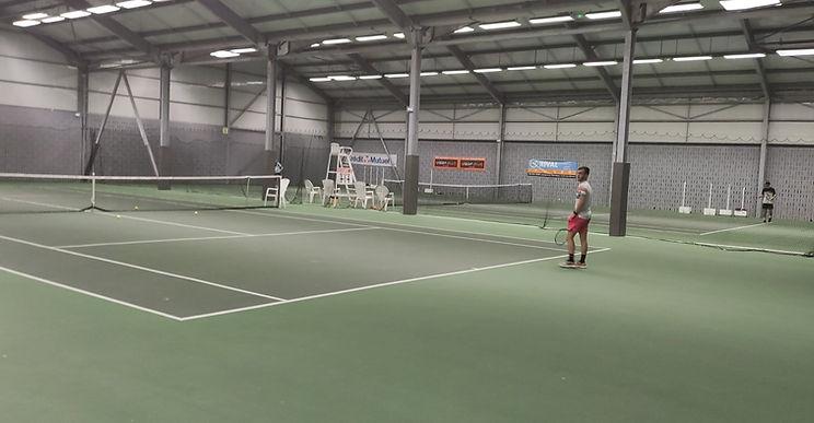 les terrains du Tennis Club Sébastiennais