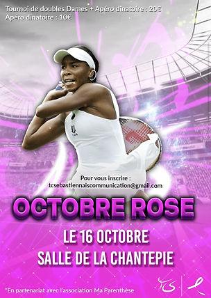 Octobre Rose Tennis