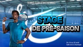 Stage de Tennis de pré-saison !