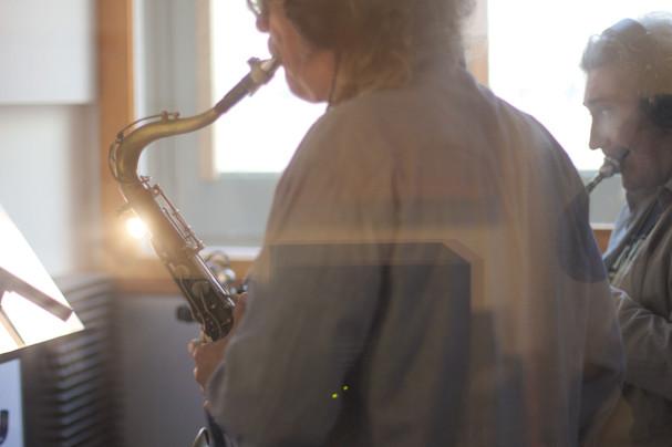 Saxohpone Recording