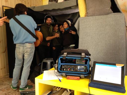 Location sound setup