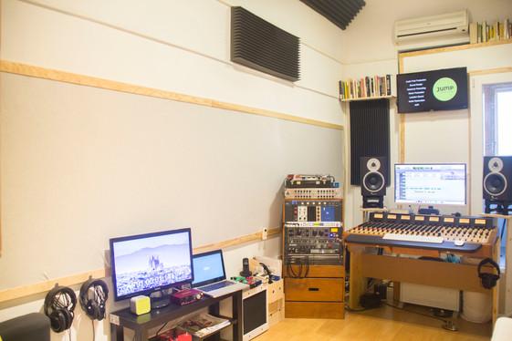 Audio post production studio