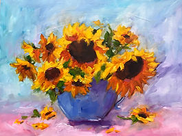 Farmers Market Sunflowers 12x16-1.jpg