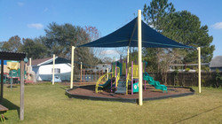 Square Sails over Playground