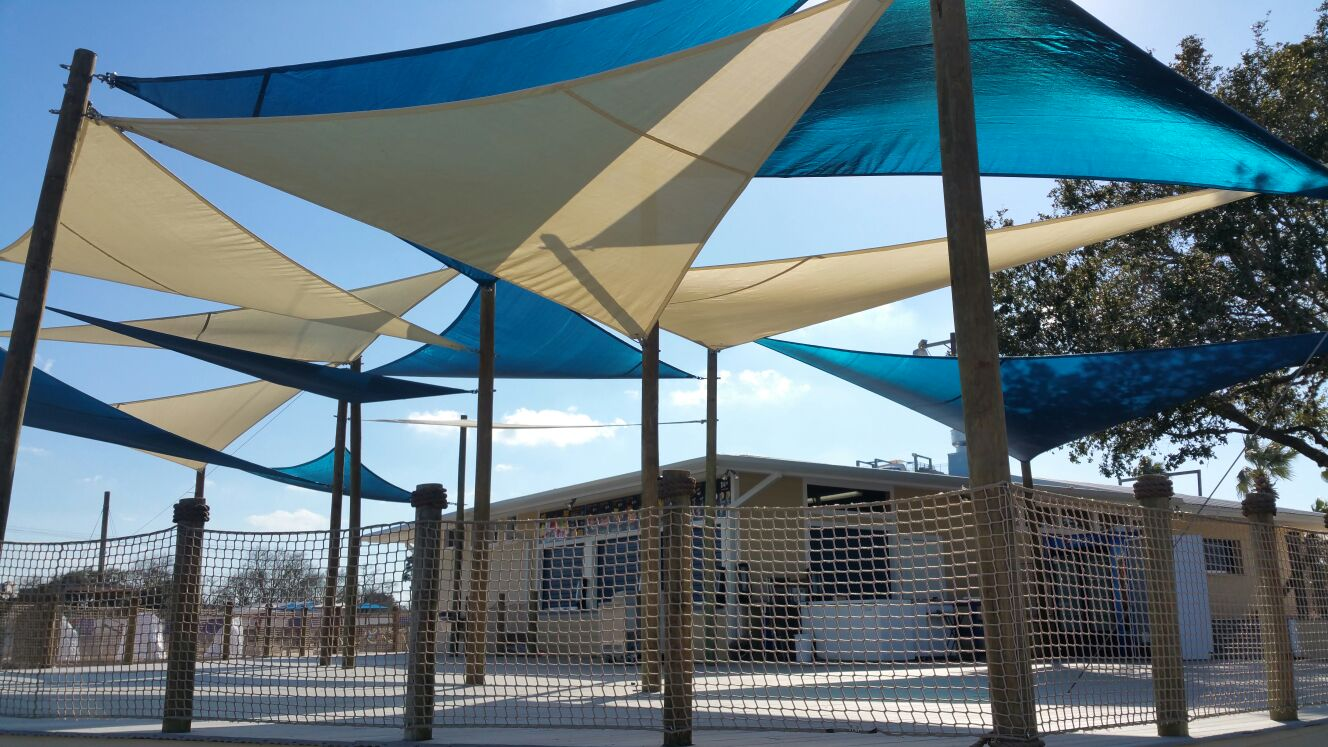 Multi Shade Structure