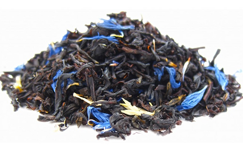 Earl Grey Cream, paired with a hint of vanilla.  Delicious Breakfast Tea.