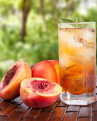 Glass of cold fresh tea with peach.jpg