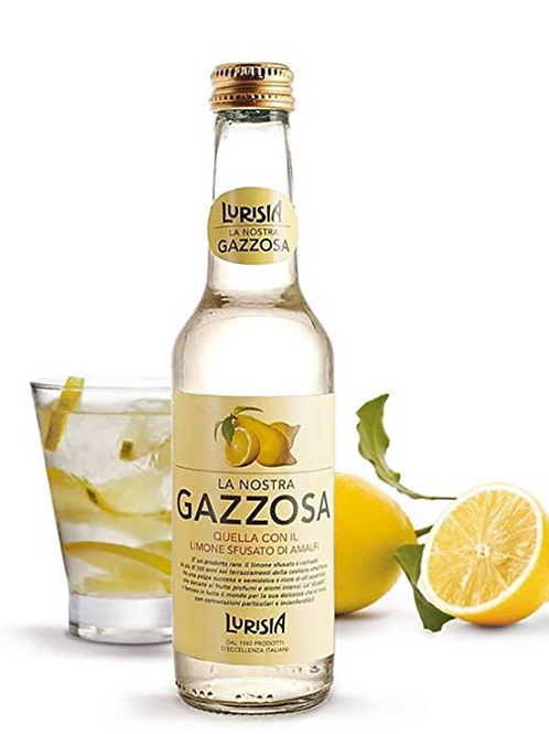 La Nostra Gazzosa, Sparkling, 9.3 oz. Bottle ,4 Pack Healthy Sodas