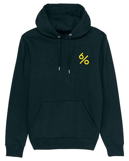 Afect hoodie backprint black sustainable unisex streetwear