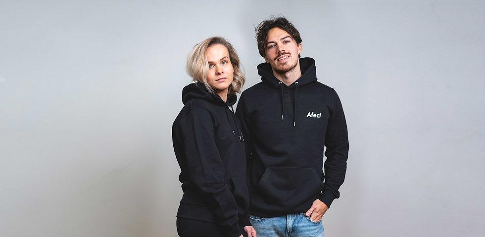 Afect Clothing Unisex streetwear Hoodie Organic