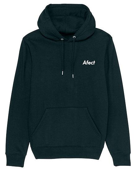 Afect hoodie black sustainable unisex streetwear
