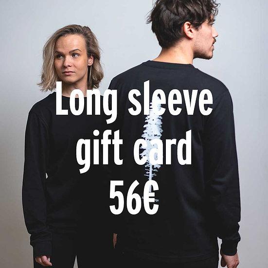 Gift Card Long Sleeve