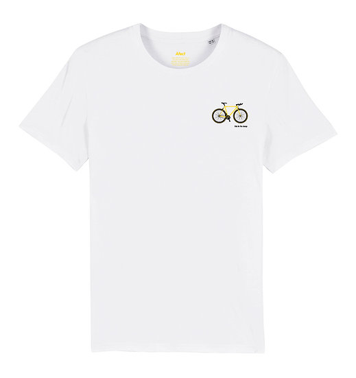 Afect t-shirt white sustainable unisex streetwear
