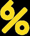 Afect Clothing 6% Logo Yellow