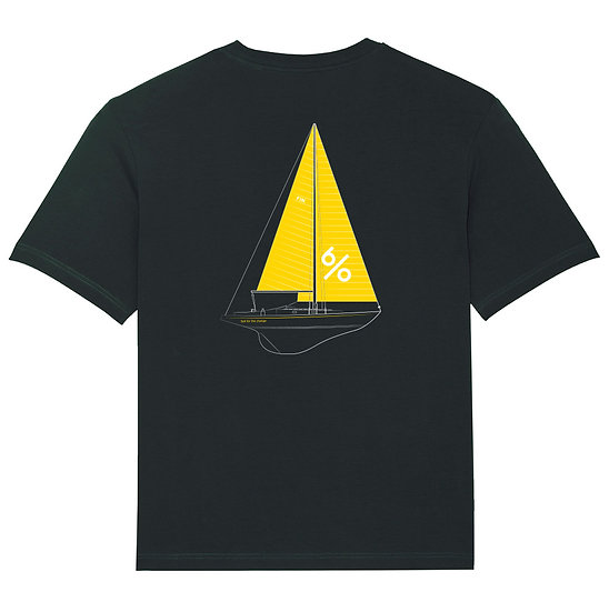 Afect t-shirt backprint black sustainable unisex streetwear