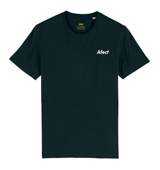 Afect t-shirt black sustainable unisex streetwear