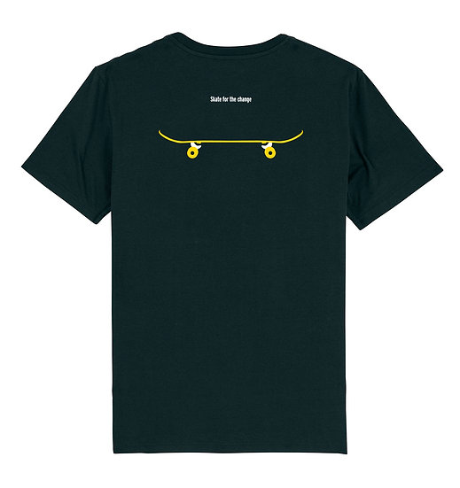 Afect t-shirt backprint black sustainable unisex streetwear