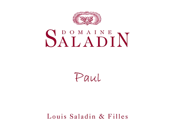 Domaine Saladin Paul, Grenache, Clairette