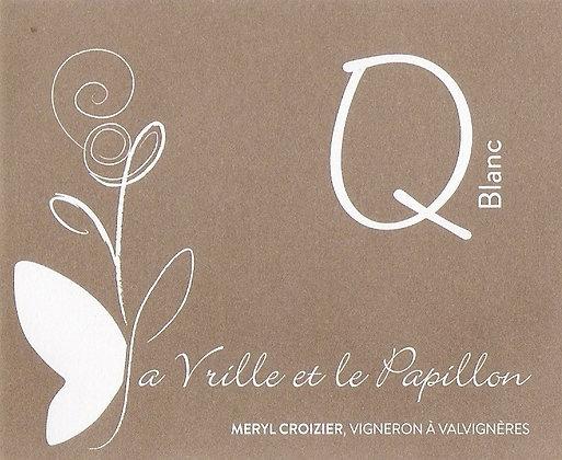 << Q Blanc >> La Vrille et Le Papillon, 750ml