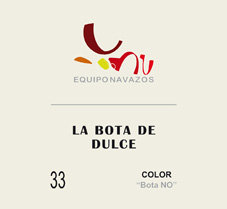"La Bota 33 de Dulce ""Color Bota NO"" 375ml"