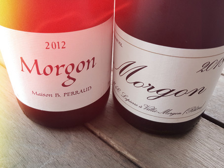 Morgon The Rotten Rock? : Perraud vs Lapierre