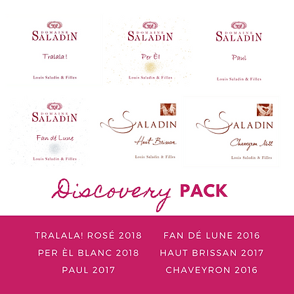 Discovery Pack - Domaine Saladin