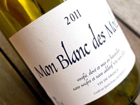 "Chardonnay & Sauvignon blanc Blend of ""Mon Blanc des Molières"""