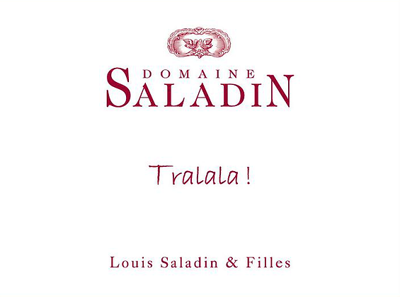 Domaine Saladin, Tralala, Rosé