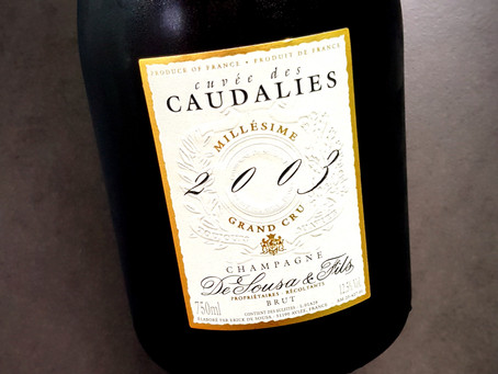 Champagne De Sousa Cuvée des Caudalies 2003 Blanc de Blancs Grand Cru 2003