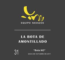 """La Bota 31 de Amontillado """"Bota NO"""" 500ml"""