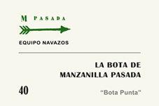 "La Bota 40 de Manzanilla Pasada ""Bota Punta"" 500ml"