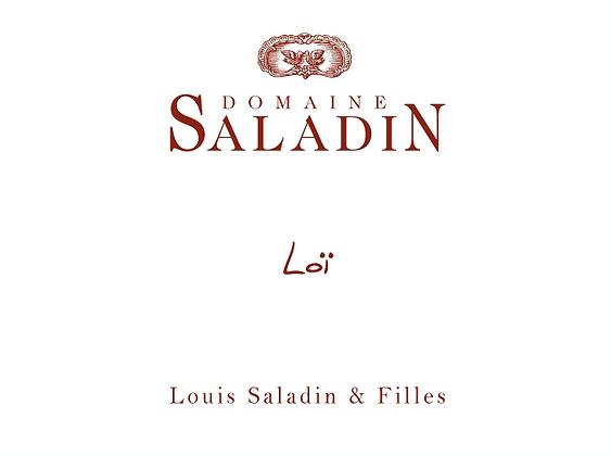 Domaine Saladin Loi, Grenache, Carignan, Syrah