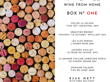Wine From Home Boxes 2021