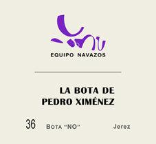 """La Bota 36 de Pedro Ximénez """"Bota NO"""" 500ml"""