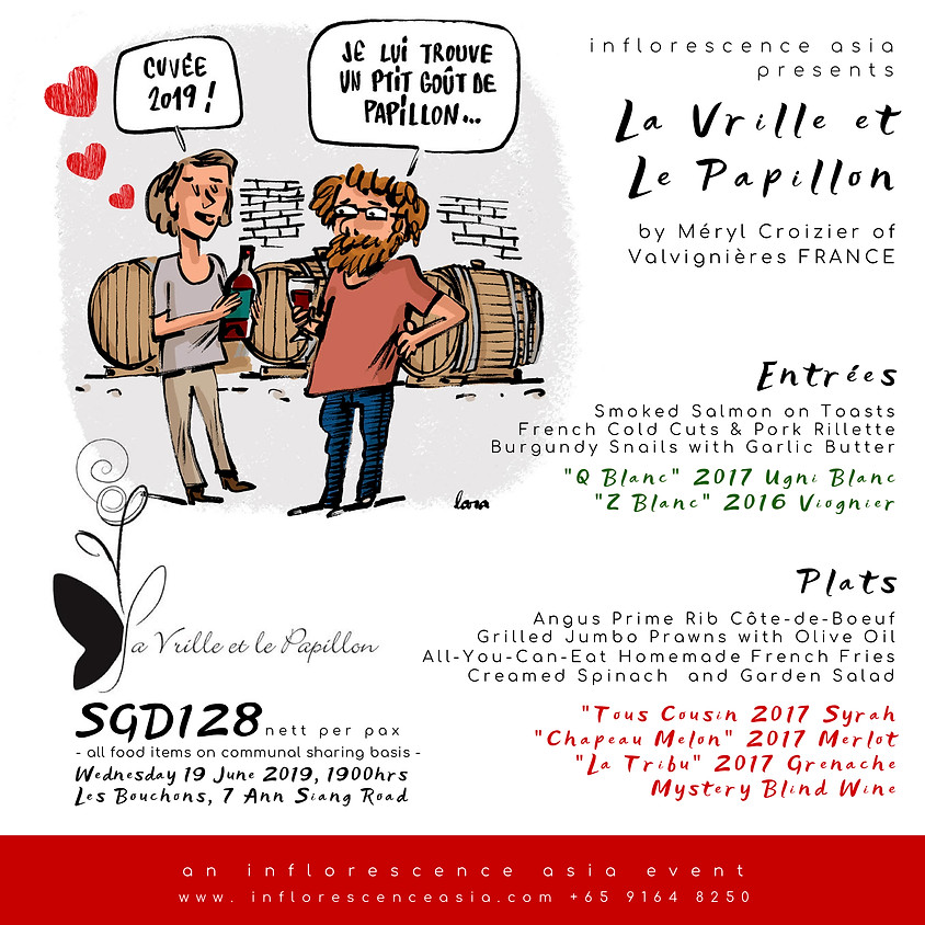 La Vrille et Le Papillon Dinner