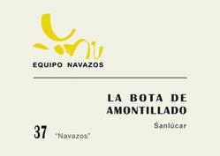 """La Bota 37 de Amontillado """"Navazos"""""""