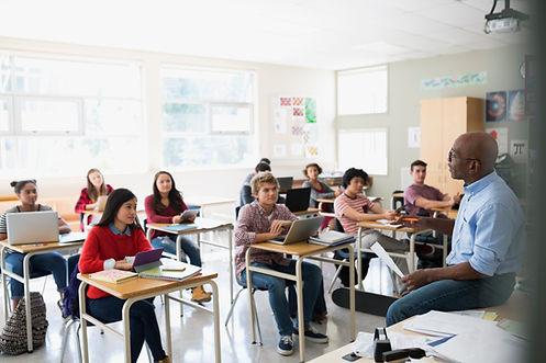 Un aula de conferencias