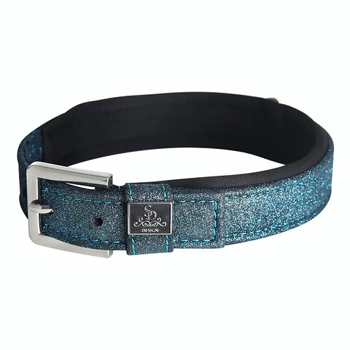 SD Design - Collier pour chien Hollywood Glamourous Blue Lagoon Glitter