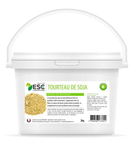 ESC Laboratoire - Tourteaux de soja - Apport en protéines et soutien énergétique