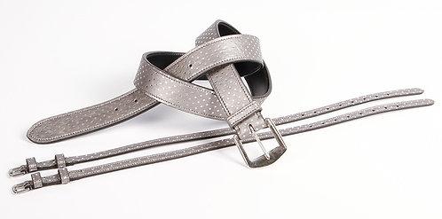 Harry's Horse - Lot ceinture et lanières d'éperons assorties Dots