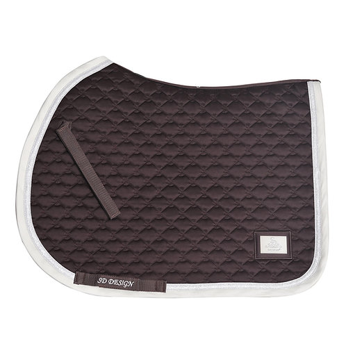 SD Design - Tapis de selle Be Tempted Chocolate Maracon