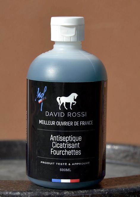 DavidRossiProduits - Antiseptique cicatrisant pour fourchettes
