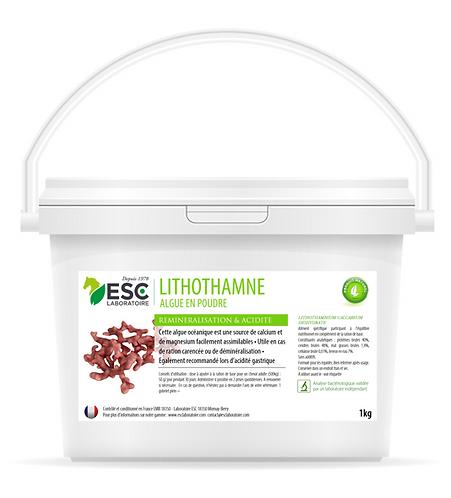 ESC Laboratoire - Lithothamne- Reminéralisation, acidité gastrique - Plante pure