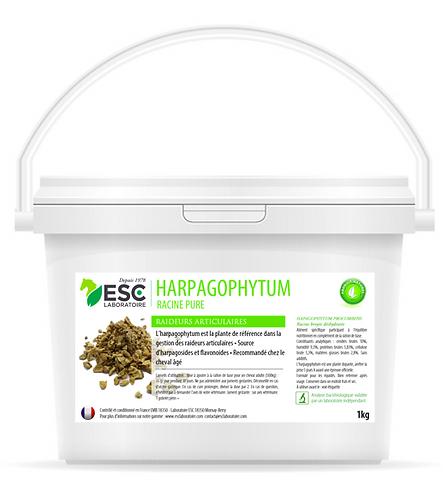 ESC Laboratoires - Harpagophytum 500gr  - Arthrose et raideurs cheval