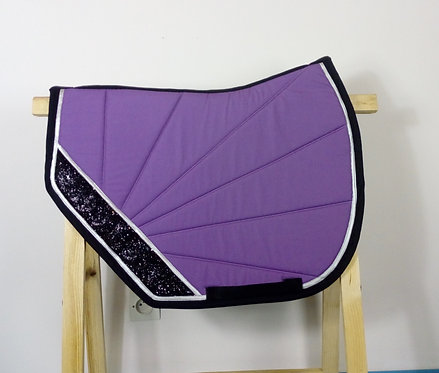 YuuDada - Tapis de selle C.S.O. Coupé sport violet