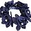 Thumbnail: SD Design - Élastique pour chignon avec roses et strass. J-151