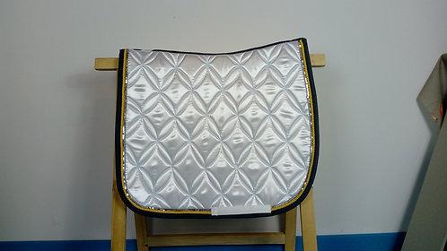 YuuDada - Tapis de selle Dressage Classique blanc  de concours