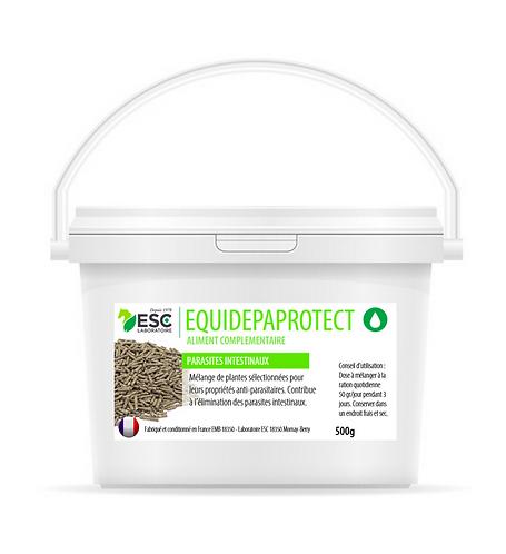 ESC Laboratoire - Equidepaprotect - parasites intestinaux - complément enrichi