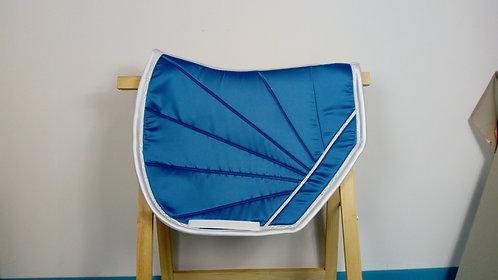 YuuDada - Tapis de selle C.S.O. Coupé sport (grande taille) satin bleu