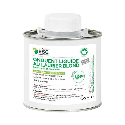 ESC Laboratoire - Onguent liquide au laurier blond, pinceau inclus